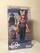 "DISNEY 12"" DOLL - 60th Anniversary Diamond Celebration - DISNEYLAND Exclusive"