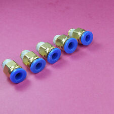 5 of 1/8 BSP Pneumatic Air Fitting for 6mm Tube Straight Quick Connect