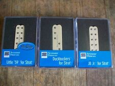 Seymour Duncan Everything Axe Set CREME Strat Single Coil Size Humbucker Pickup