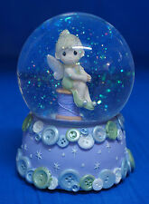 Tinker Bell Spool Thread Musical Snowglobe Disney Precious Moments 931003