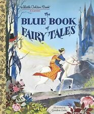 The Blue Book of Fairy Tales by Golden Books (2013, Picture Book)
