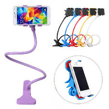 Flexible 360 degree Rotating Phones Holder Long Arm Clip