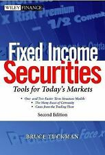 Fixed Income Securities: Tools for Today's Markets by Tuckman 2nd Ed (Hardcover)