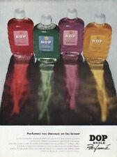Publicité Advertising  DOP huile parfumé