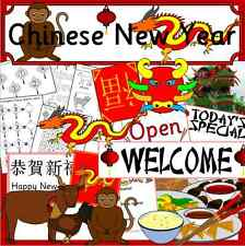 Chinese New Year Primary Teacher Resource CD KS1 EYFS SEN- Restaurant role play