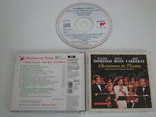 PLACIDO DOMINGO/DIANA ROSS/HOSÉ CARRERAS/CHRISTMAS IN VIENNA(SK 53 358) CD ALBUM