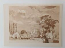 Print Distant Prospect of Canterbury Aubrey Waterfield 1947