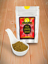Archivo de tierra experimentados pioneros Cajun Aderezo Hojas Powder 26g sasafrás Spice