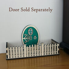 Fairy Elf Door Picket Fence Accessory Craft Kit - easy to assemble