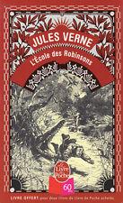 JEUNESSE / pea j58 / Jules Verne : L'ECOLE DES ROBINSONS