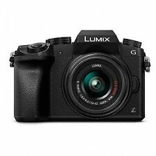 Panasonic LUMIX G7 16.0 MP Digital SLR Camera - Black (Kit w/ 14-42 mm Lens)