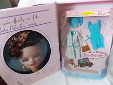 1997 * Barbie Collectors Club * Gallery Opening Fashion * Pin * Binder