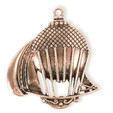 Steampunk Antique Copper Sailing Hot Air Balloon Pendant - Jewelry Finding