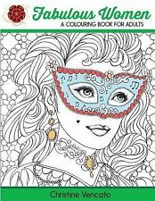 Fabulous Women: a Colouring Book for Adults NEW RELEASE FEBRUARY 3