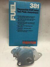 Thexton 381 Disposable EGR Valve Test Plate Assortment Kit Contains 13 Plates