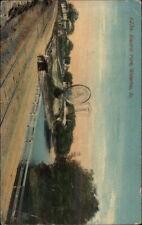 Waterloo IA Electric Park c1910 Postcard