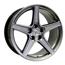 "18"" Hyperblack Mustang Saleen Style wheels 18x9 18x10 Inch 5x114.3 Rims 94-04"