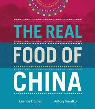 The Real Food of China by Leanne Kitchen Hardcover Book (English)