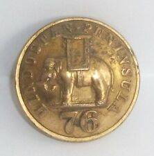 The 76th Regiment of Foot Officers 25mm Button by Jennens