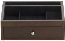 Jackson Mahogany Open Jewelry Box/Valet by Reed and Barton 548MBK