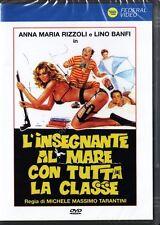L'INSEGNANTE AL MARE CON TUTTA LA CLASSE - Anna Maria Rizzoli Lino Banfi DVD