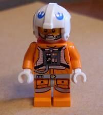 Lego Star Wars Snowspeeder Pilot Figur orange - Piloten Rebellen Hoth Eis Neu