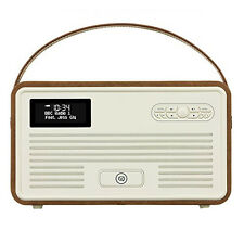VQ View Quest Retro Radio MKII DAB+ FM Bluetooth Speaker 5s 6s iPhone dock BROWN