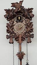Cucú 23cm de erlenholz tallada nuevo con 12 melodías de schwarzwaldneu