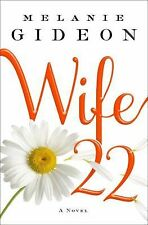 Wife 22 by Melanie Gideon new hardcover Book Club edition