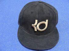 Nike Kevin Durant KD Suede Snapback Strapback Hat Cap 728502 010 Black/Gold