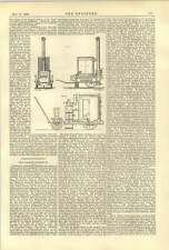 1888 Contagion Disinfection Portable Steam Chamber