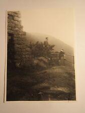Ruine Breitenstein am 17. Juli 1927 / Foto-Abzug