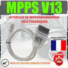 Interface de reprogrammation MPPS V13 + V16 - Moteur FAP EGR immobiliseur off