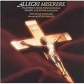 The Tallis Scholars : Allegri: Miserere CD