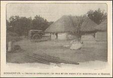INDE INDIA TAMIL NADU MADURAI CHAPELLE CATHOLIQUE IMAGE 1901
