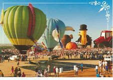 ALBUQUERQUE  NEW MEXICO HOT AIR BALLOONS RENAISSANCE CASE TRACTOR(AB63*)