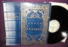Benkő László – Lexikon RARE HUNGARIAN SYNTH POP LP 1982 Start label SLPX 17713