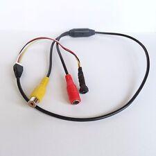 HD con cavo 600TVL mini Nero vite modello lente micro CAMERA SPIA CAM 0.6cm HD