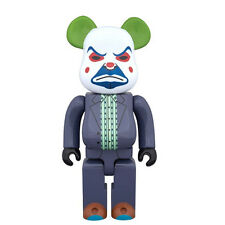 Dark Knight Joker Bank Robber 400% Bearbrick Medicom Figure NEW