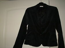 Giacca donna nero vellutato CLUB VOLTAIRE taglia 46