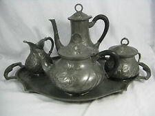 Jugendstil Kaffee / Tee Service  ORIVIT AG Köln /  Art Nouveau coffee & tea set