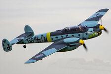 """Dynam Messerschmitt BF-110 RC Warbird 1500mm (59"""") Wingspan PNP w/ Retracts"""