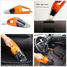 Multi Function 12V 120W Car Truck Handheld Vacuum Dirt Cleaner Wet & Dry Duster