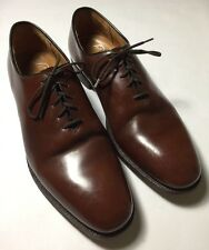 Church's Custom Grade Walnut Brown Whole Cut Shoes US 12 D Church's 120 D