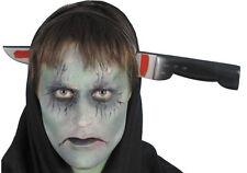Messer durch den Kopf Haarreif NEU - Zubehör Accessoire Karneval Fasching