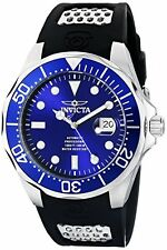Invicta Men's 11752 Grand Diver Automatic Blue Dial Polyurethane Watch
