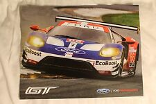 2016 IMSA  FORD GT Hero Card Le Mans Rolex 24 Hours at Daytona