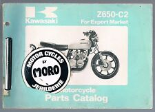 KAWASAKI Z 650-C2 PARTS MANUAL 1978 VERY USABLE CONDITION