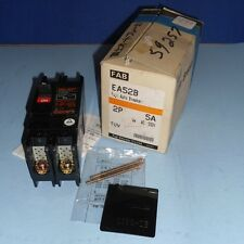 FUJI 5A 550V 2 POLE AUTO BREAKER EA52B *NEW IN BOX*