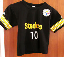 PITTSBURGH STEELERS youth small football jersey SANTONIO HOLMES 1980s Franklin